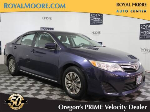 2014 Toyota Camry for sale at Royal Moore Custom Finance in Hillsboro OR