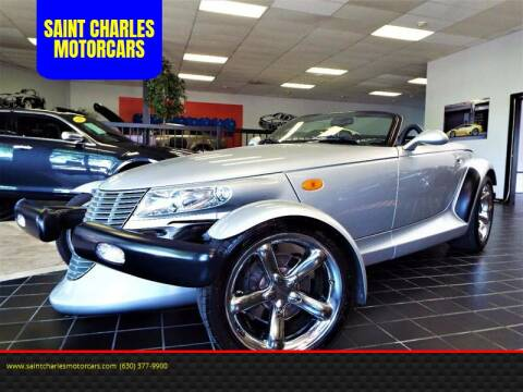 2000 Plymouth Prowler for sale at SAINT CHARLES MOTORCARS in Saint Charles IL