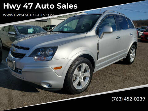 2015 Chevrolet Captiva Sport for sale at Hwy 47 Auto Sales in Saint Francis MN