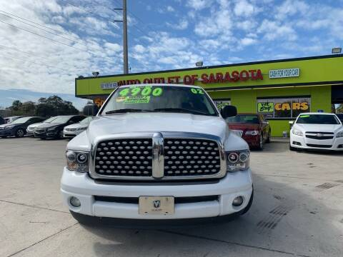 2002 Dodge Ram Pickup 1500 for sale at Auto Outlet of Sarasota in Sarasota FL