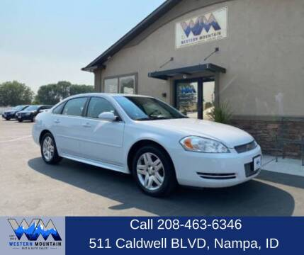 2013 Chevrolet Impala for sale at Western Mountain Bus & Auto Sales in Nampa ID