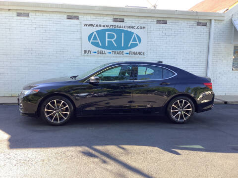 2015 Acura TLX for sale at ARIA  AUTO  SALES in Raleigh NC