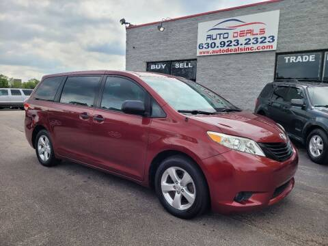2014 Toyota Sienna for sale at Auto Deals in Roselle IL