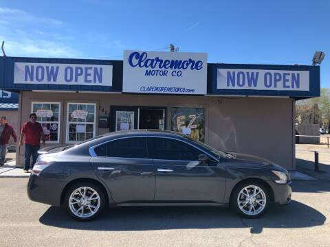 2012 Nissan Maxima for sale at Claremore Motor Company in Claremore OK