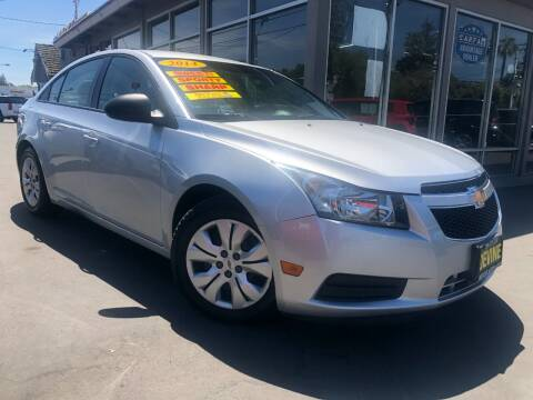 2014 Chevrolet Cruze for sale at Devine Auto Sales in Modesto CA