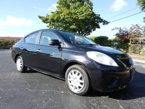 2012 Nissan Versa for sale at SUPER DEAL MOTORS 441 in Hollywood FL