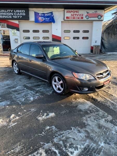 2009 Subaru Legacy for sale at AUTOMETRICS in Brunswick ME