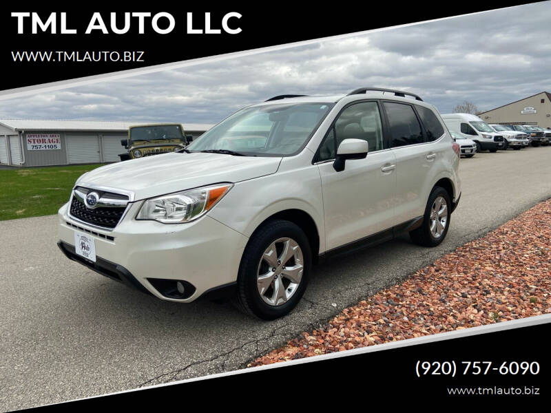 2014 Subaru Forester for sale at TML AUTO LLC in Appleton WI
