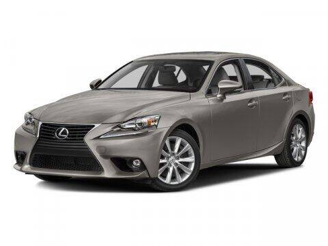 2016 Lexus IS 200t for sale at J T Auto Group in Sanford NC
