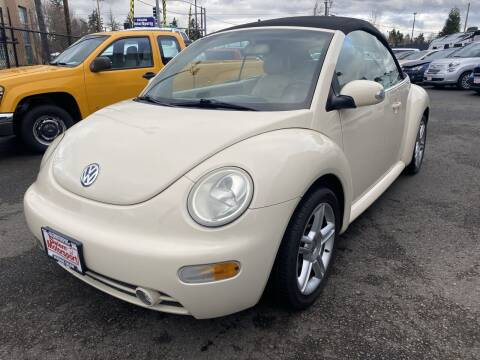 2005 Volkswagen New Beetle Convertible for sale at Salem Motorsports in Salem OR