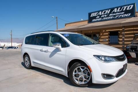 2018 Chrysler Pacifica for sale at Beach Auto and RV Sales in Lake Havasu City AZ