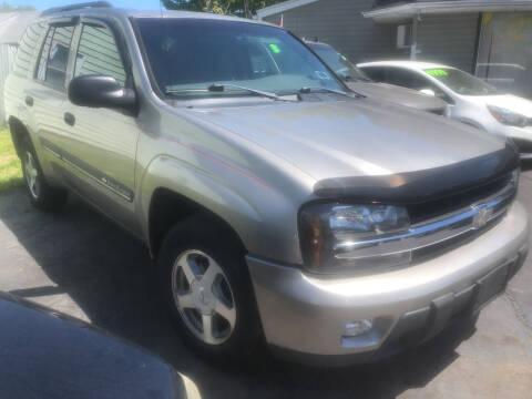 2002 Chevrolet TrailBlazer for sale at Trinity Motors in Lackawanna NY