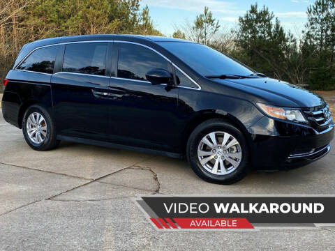 2015 Honda Odyssey for sale at Selective Imports in Woodstock GA