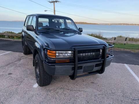 1991 Toyota Land Cruiser for sale at SODA MOTORS AUTO SALES LLC in Newport RI