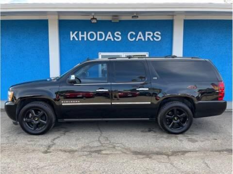 2013 Chevrolet Suburban for sale at Khodas Cars in Gilroy CA