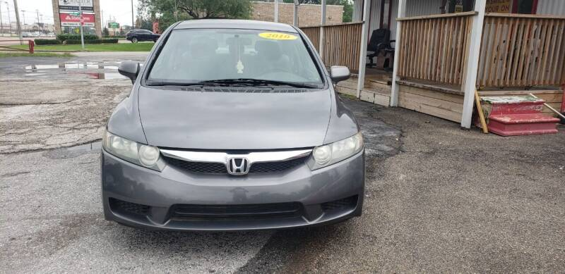 2010 Honda Civic for sale at Anthony's Auto Sales of Texas, LLC in La Porte TX