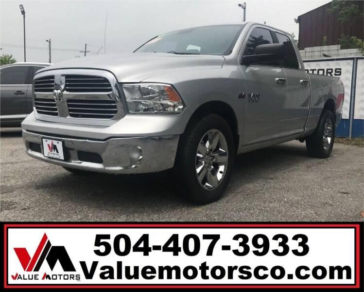 2013 RAM Ram Pickup 1500 for sale at Value Motors Company in Marrero LA