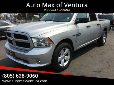 2014 RAM Ram Pickup 1500 for sale at Auto Max of Ventura in Ventura CA