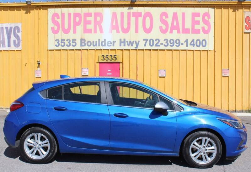 2017 Chevrolet Cruze for sale at Super Auto Sales in Las Vegas NV
