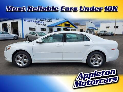 2010 Chevrolet Malibu for sale at Appleton Motorcars Sales & Service in Appleton WI