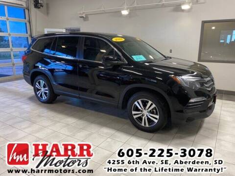 2018 Honda Pilot for sale at Harr Motors Bargain Center in Aberdeen SD