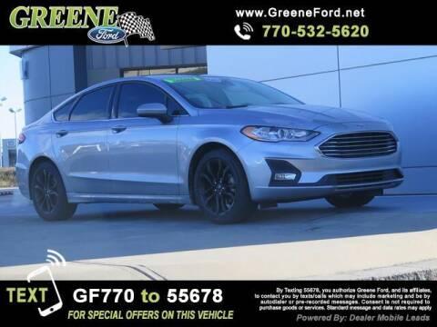 2020 Ford Fusion for sale at Nerd Motive, Inc. - NMI in Atlanta GA