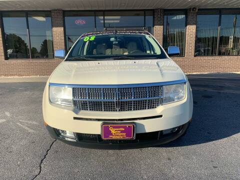 2008 Lincoln MKX for sale at DRIVEhereNOW.com in Greenville NC