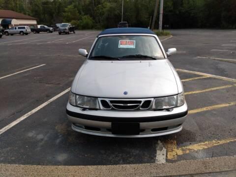 2002 Saab 9-3 for sale at JMV Inc. in Bergenfield NJ