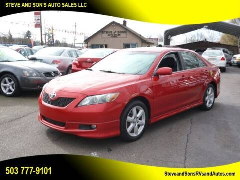 2012 Toyota Camry for sale at Steve & Sons Auto Sales in Happy Valley OR
