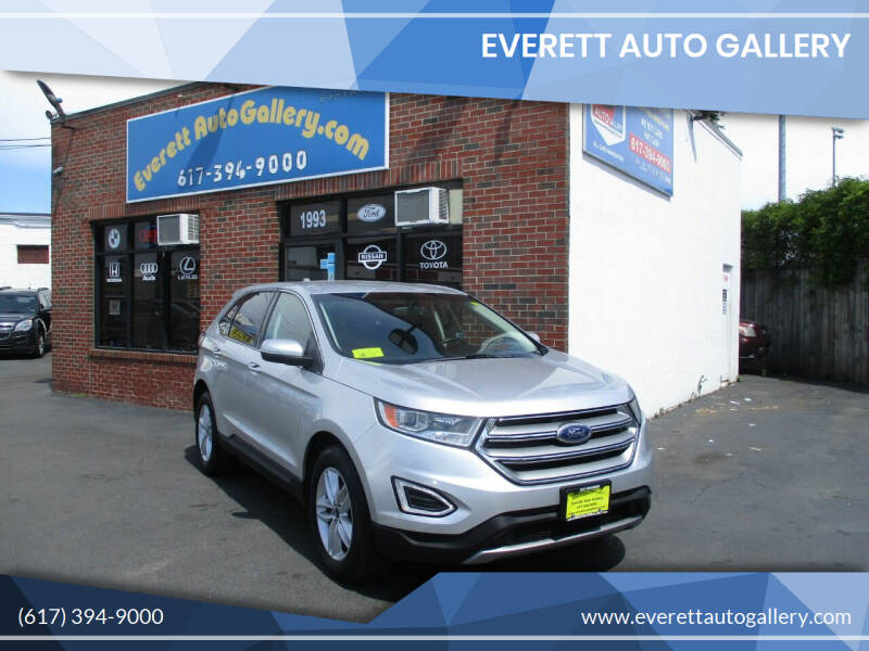 2016 Ford Edge for sale at Everett Auto Gallery in Everett MA
