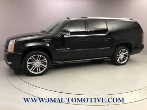 2013 Cadillac Escalade ESV for sale at J & M Automotive in Naugatuck CT