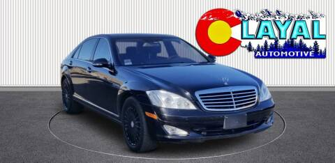 2008 Mercedes-Benz S-Class for sale at Layal Automotive in Englewood CO