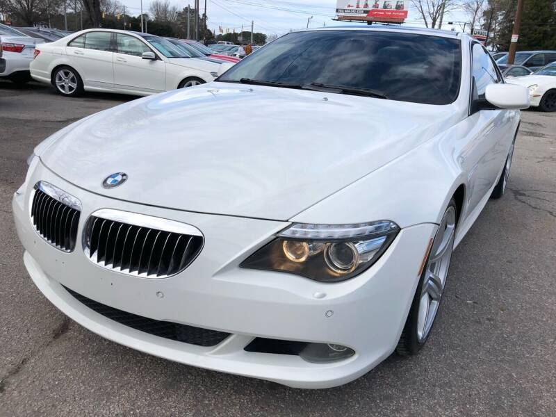 2009 BMW 6 Series for sale at Atlantic Auto Sales in Garner NC