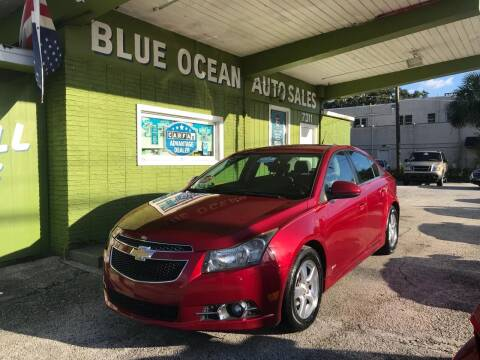2013 Chevrolet Cruze for sale at Blue Ocean Auto Sales LLC in Tampa FL