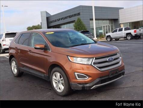 2017 Ford Edge for sale at BOB ROHRMAN FORT WAYNE TOYOTA in Fort Wayne IN