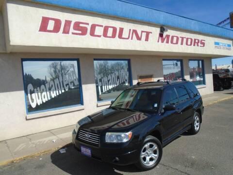 2006 Subaru Forester for sale at Discount Motors in Pueblo CO