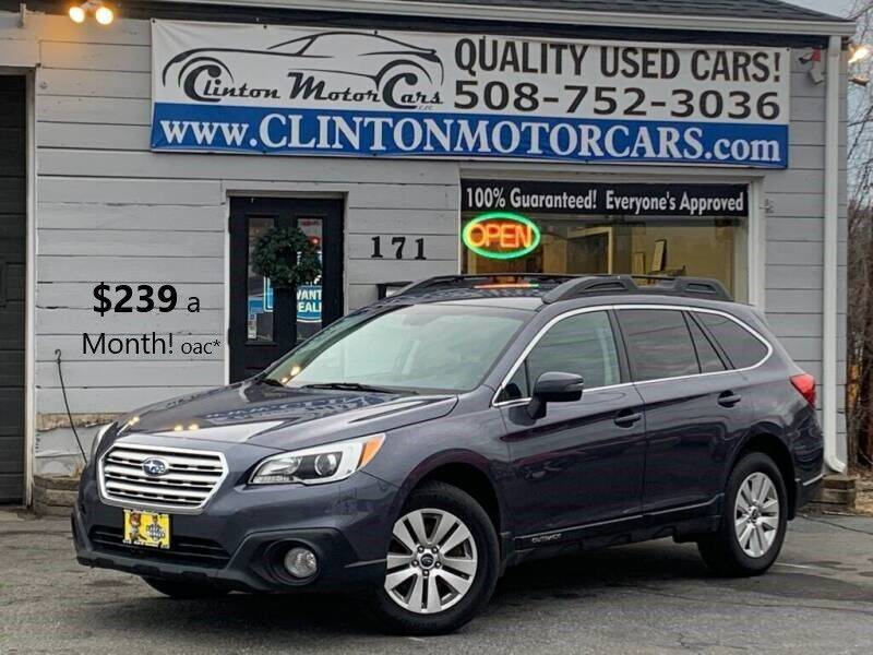 2015 Subaru Outback for sale at Clinton MotorCars in Shrewsbury MA