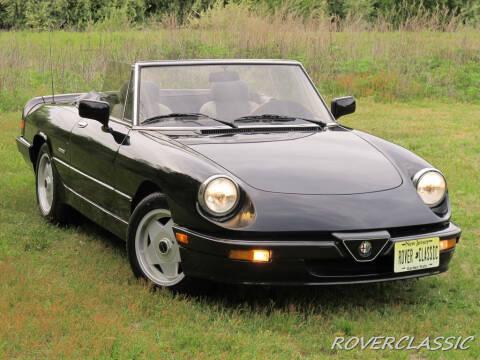 1987 Alfa Romeo Spider for sale at Isuzu Classic in Cream Ridge NJ