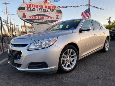 2016 Chevrolet Malibu Limited for sale at Arizona Drive LLC in Tucson AZ