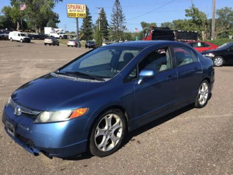 2008 Honda Civic for sale at Sparkle Auto Sales in Maplewood MN