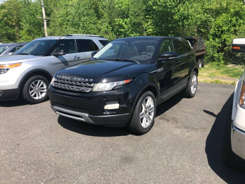 2013 Land Rover Range Rover Evoque for sale at T&D Cars in Holbrook MA