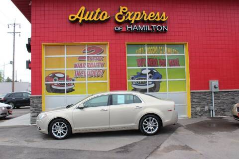 2009 Chevrolet Malibu for sale at AUTO EXPRESS OF HAMILTON LLC in Hamilton OH