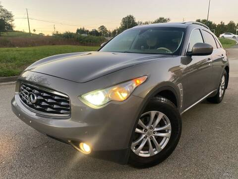 2009 Infiniti FX35 for sale at Gwinnett Luxury Motors in Buford GA