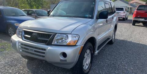 2003 Mitsubishi Montero for sale at JM Auto Sales in Shenandoah PA