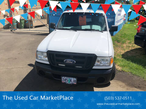 2010 Ford Ranger for sale at The Used Car MarketPlace in Newberg OR