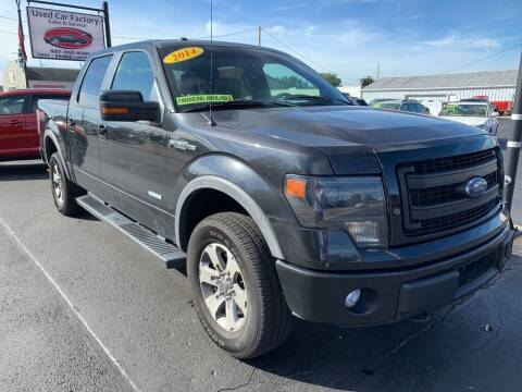 2014 Ford F-150 for sale at Used Car Factory Sales & Service Troy in Troy OH