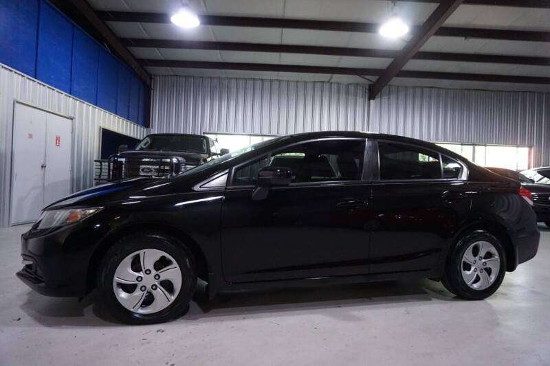 2015 Honda Civic for sale at SOUTHWEST AUTO CENTER INC in Houston TX