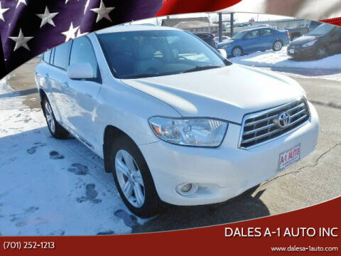 2008 Toyota Highlander for sale at Dales A-1 Auto Inc in Jamestown ND