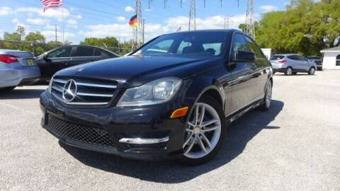 2014 Mercedes-Benz C-Class for sale at Das Autohaus Quality Used Cars in Clearwater FL