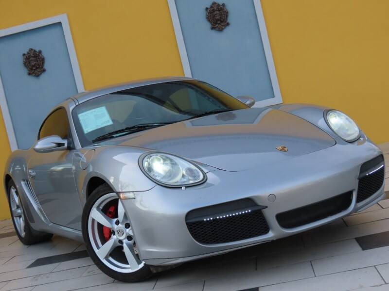 2008 Porsche Cayman for sale at Paradise Motor Sports LLC in Lexington KY
